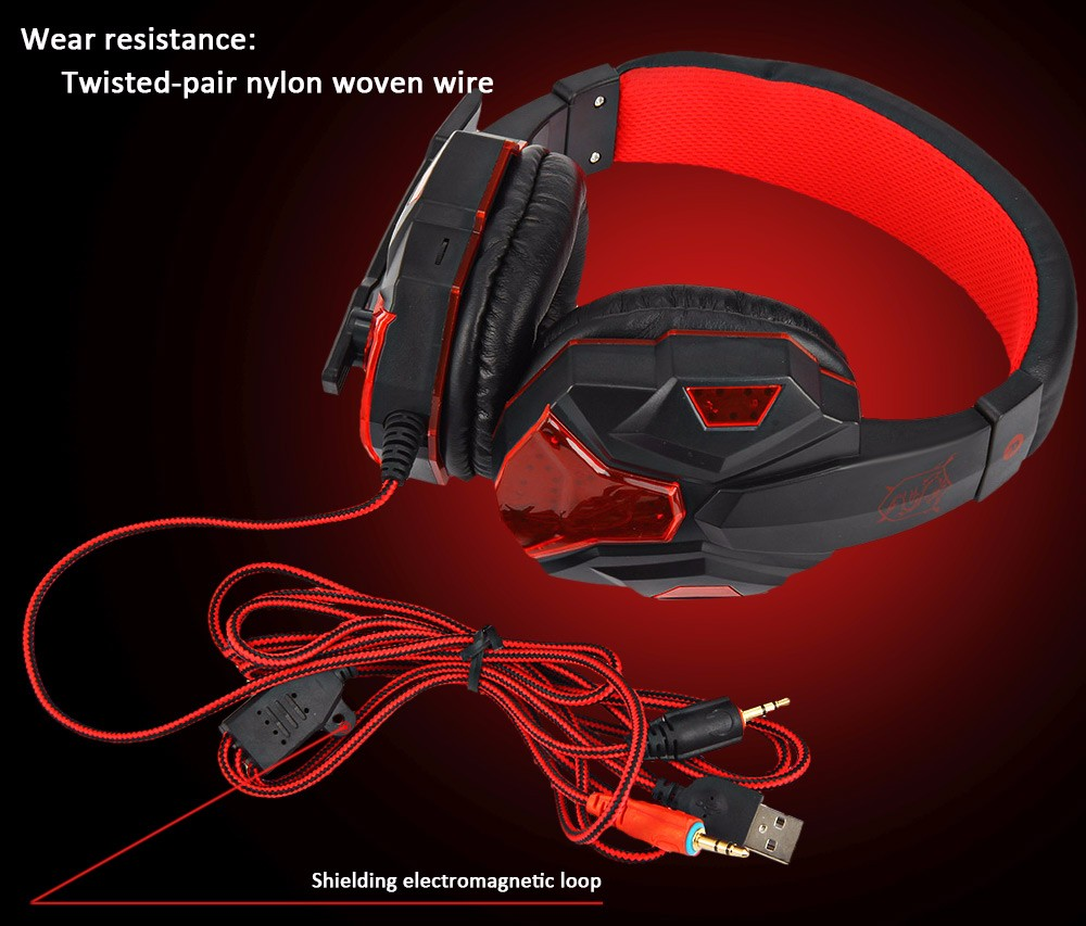 Plextone PC780 Gaming Headset with Mic 8