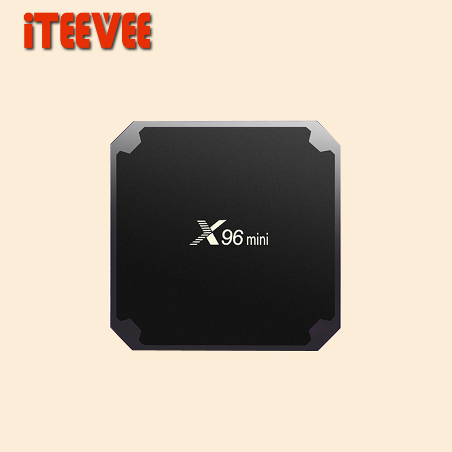 5PCS X96 mini Wireless WiFi Android 7 1 TV BOX 2GB 16GB 1GB 8GB Amlogic S905W
