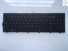for Dell Inspiron 15R 15 3000 15 5000 17-5000 5547 3542 5542 US laptop keyboard PK1313G1B00 NSK-LR0BC 01 with frame backlit(China)