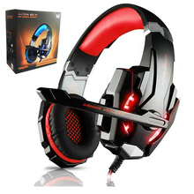 KOTION EACH G900 3.5mm Game Gaming Headphone Headset Earphone With Mic LED Light For PC laptop PlayStation 4 smartphone
