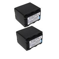 2Pcs Lot VW VBK360 VW VBK360 Camera Battery For Panasonic HDC HS80 SD40 SD60 SD80 SDX1