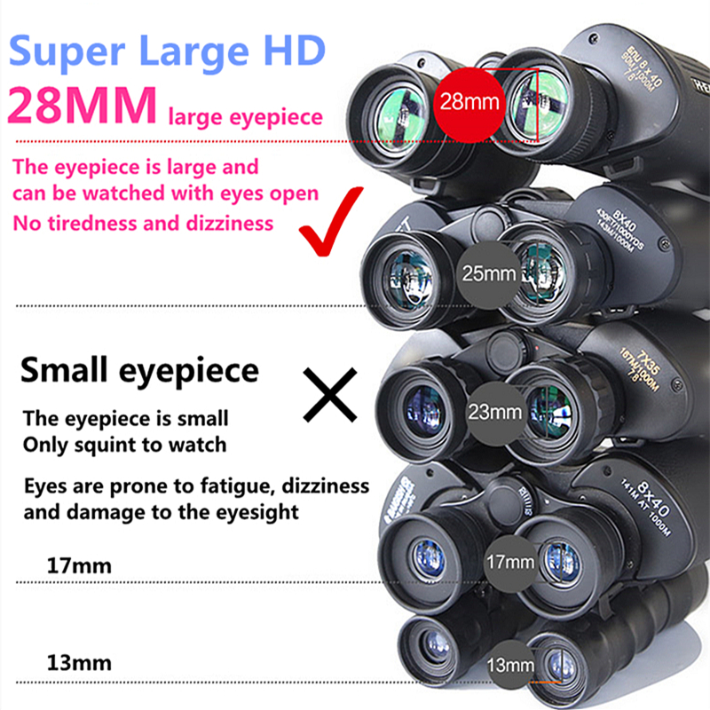 Image 5 - Professional Metal Military Telescope Lll Night Vision Hd Binoculars Russian For Outdoor Camping Hunting Travel zoom Fmc Lens-in Monocular/Binoculars from Sports & Entertainment