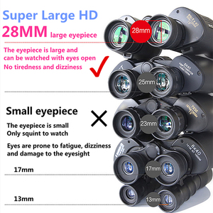 Image 5 - Professionelle Metall Militär Teleskop Lll Nachtsicht Hd Fernglas Russische Für Outdoor Camping Jagd Reisen Zoom Fmc Objektiv