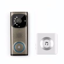 Smart Home HD Video Doorbell Camera Wifi Two-Way Talk Wireless Door Phone Real-Time Video Speaker Intercom System F1407D