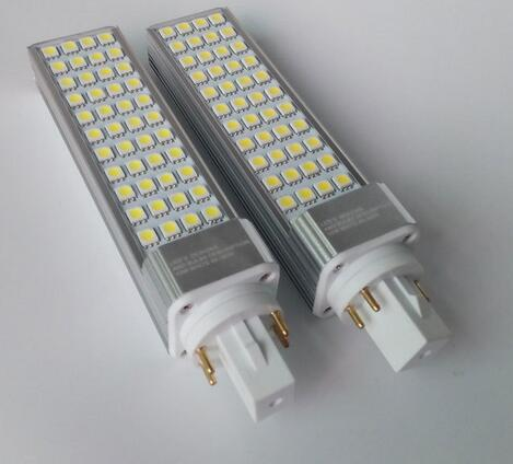 12W LED Light Bulb PL 4pis G24 5050 smd 60 LED lamp PLC G24d Corn Light 110V 220V 230V 240V Equal 120V Halogen Lamp 2pcs/lot 9w 10w smd led pl tube pl energy savin lamp 850lm ac100 240v clear