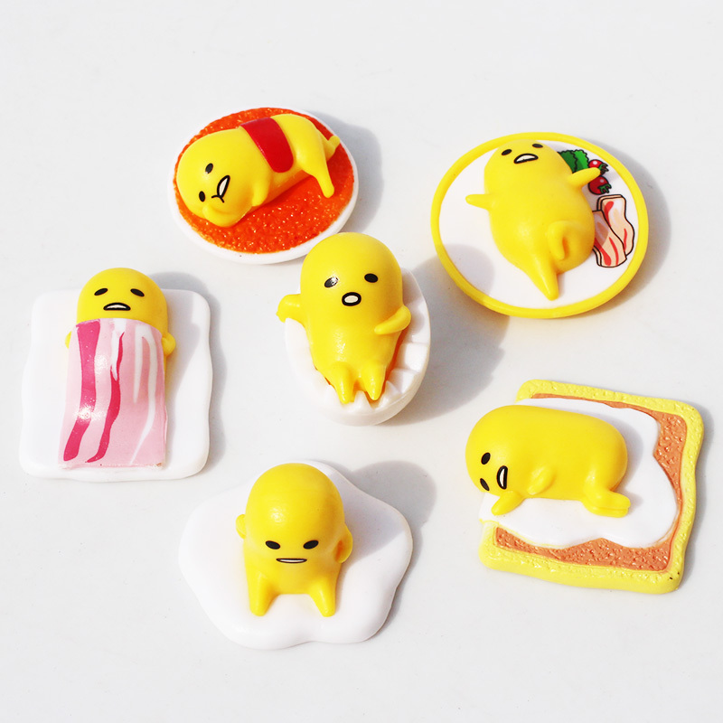 Aliexpress Buy 6pcs Set Cute Gudetama Egg Pvc Dolls