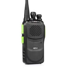 Baofeng/pofung gt-1 uhf 400-470 мГц 5 Вт каналов fm function two-way хэм портативный приемопередатчик walkie talkie зеленый