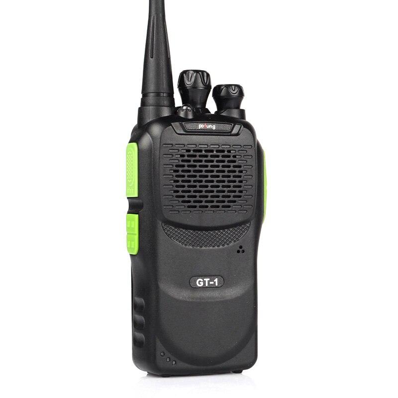 Baofeng/Pofung GT-1 UHF 400-470 mhz 5 watt 16CH FM Funktion Zwei-weg Ham Tragbaren Handheld radio Transceiver Walkie Talkie Grün