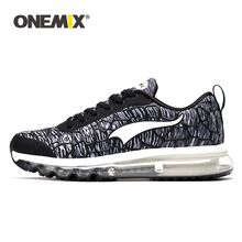 ONEMIX Men s Running Shoes Breathable Network Vamp Light Non Slip Sports Shoes Outdoor Walking On
