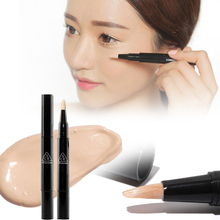 1Pc Face concealer stick Dark circle removing eye brightener concealer liquid Pen Hide Blemish Base Makeup cream  Y1-5