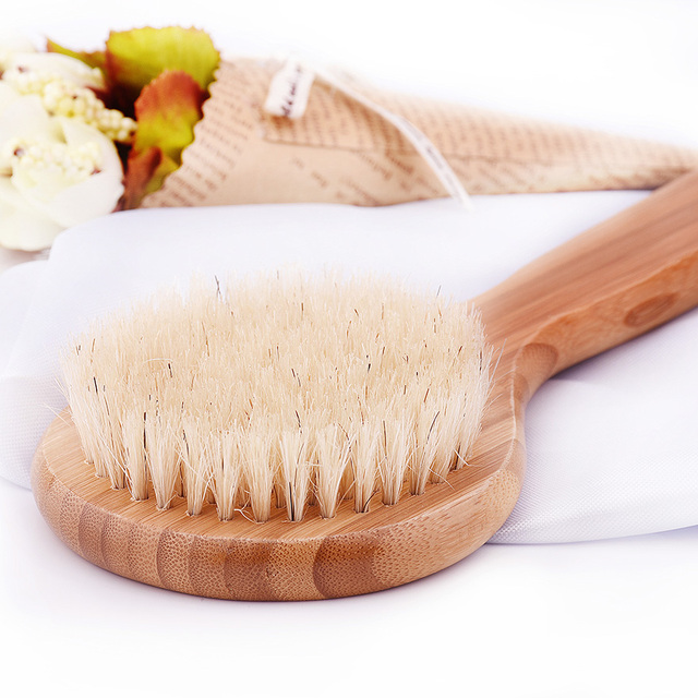 Bamboo Brush for Shower and Massage
