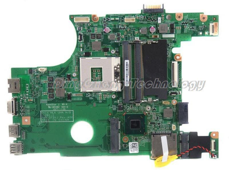 laptop Motherboard/mainboard for dell 3420 04XGDT CN-04XGDT for intel cpu with integrated graphics card 100% tested Fully free shipping for dell e6510 laptop motherboard mainboard cn 0ncpcn al22 la 5573p non integrated fully tested good condition