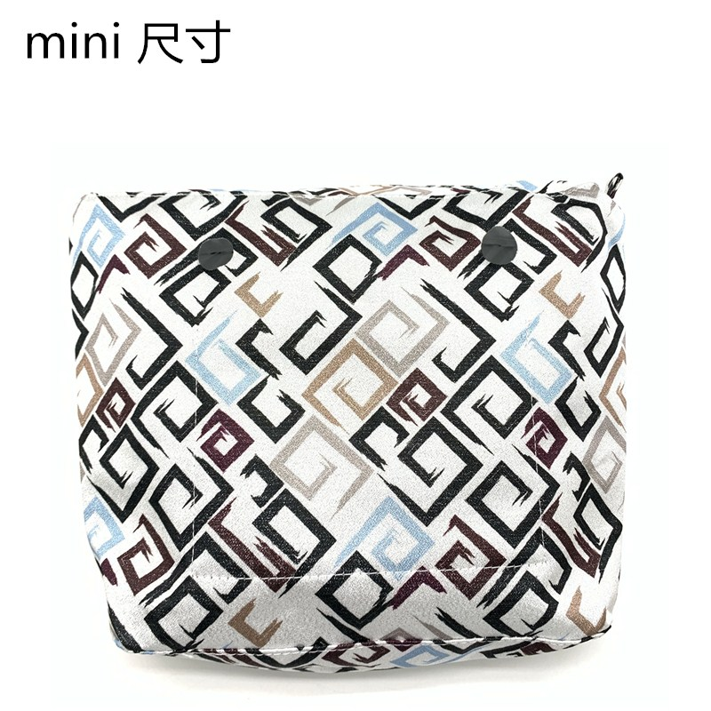 MLHJ Obag Canvans Inner Bag Mini Size Pu Material