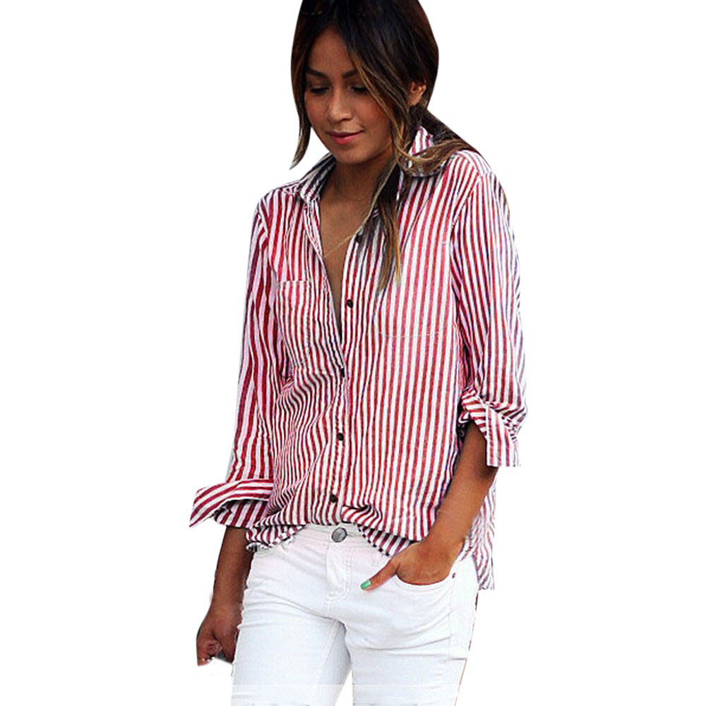 Popular Red Blouses Women-Buy Cheap Red Blouses Women lots from ...