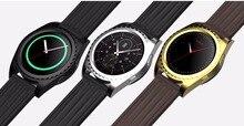 MTK2502c Runde Smartwatch Bluetooth Phone Pulsmesser Touchscreen Smart Watch Sync-nachricht VS G3 G4 G5 U8 GT08 uhr