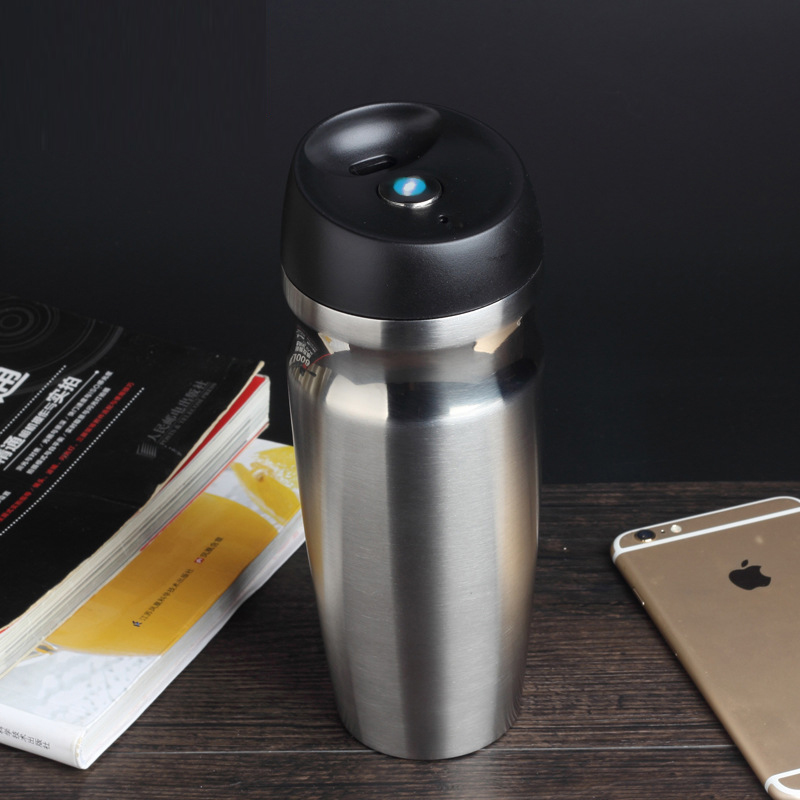 Car Vacuum Insulated Travel Mugs Double wall Stainless Steel Tumbler Sweat Free Coffee Cups Thermos Water Bottle for Camping