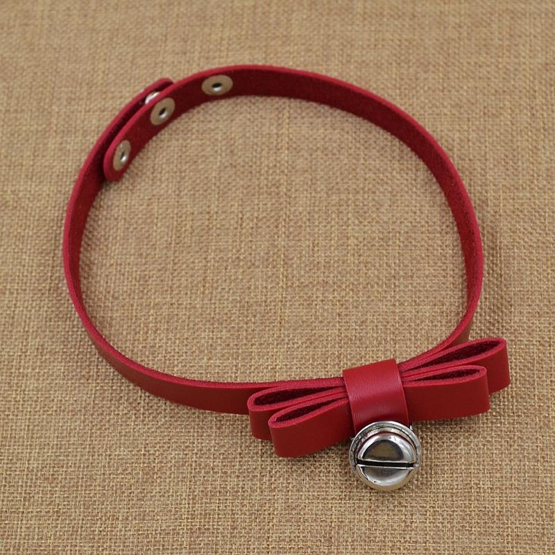 fashion lychee Hot Punk Harajuku Collar Choker Necklace Heart Bell Sun Pendant Neck Jewelry For Women Fashion