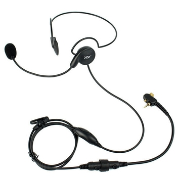 Advanced Unilateral Headphone Mic Neckband Earpiece Cycling Field Tactical Headset For Motorola MTP850 MTH600 MTH850 Radio