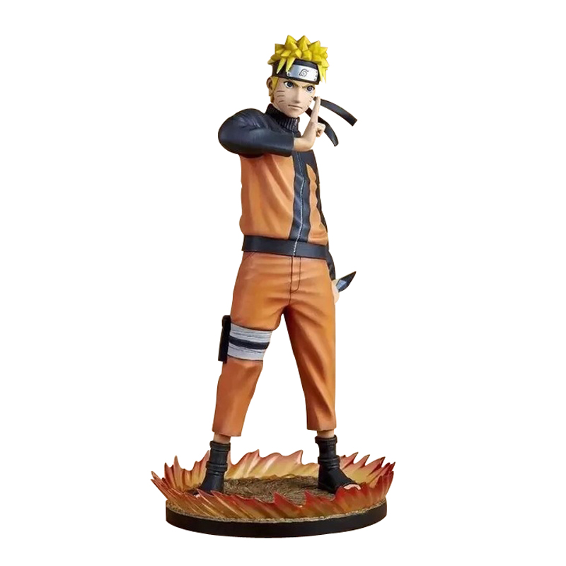 26cm Japanese Anime Naruto Uzumaki Naruto Action Figure PVC Toys Face Change Figure Model Doll Decoration Kid Adult Gift how to train your dragon toothless night action figure toy deadly nadder hageffen gronckle doll anime pvc kid toys
