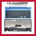 Nuevo para samsung 355e5c np355e5c np355v5c 355v5c 350v5c np350v5c np300e5e 300e5e np350e5c 350e5c ee.uu. teclado negro marco azul