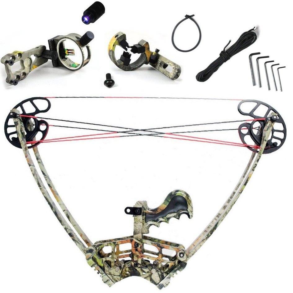 Piaoyu Camo compound bow, Camouflage Triangle Hunting Compound Bow  for human outdoor hunting, Archery bow , China Archery