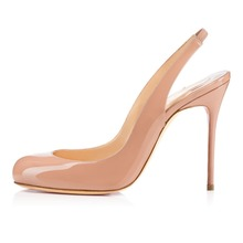 Amourplato Brand Hi-End Womens Ladies Handmade Fashion Flies Slingback 100mm High Heel Party Prom Pumps Shoes