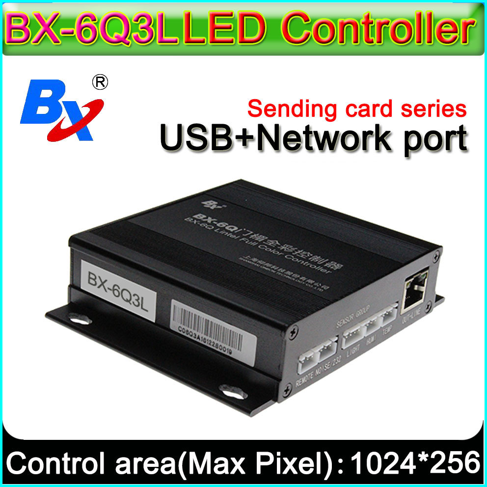 Onbon BX-6Q3L Lintel Full Color Controller Asynchronous,Ethernet And USB Port Sending Program,Lead Free LED Display Control Card