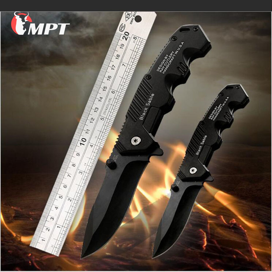 Cuchillo plegable cuchillos tácticos de supervivencia caza Camping hoja edc multi alta dureza militar supervivencia cuchillo bolsillo