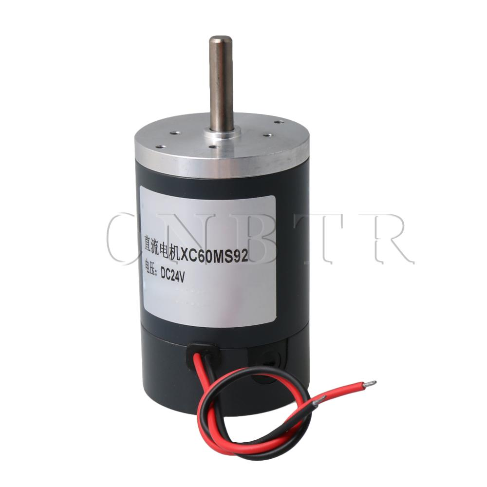 DC Brush Motor 24V 5000RPM Permanent Magnet Motor for Cutting BenchDC Brush Motor 24V 5000RPM Permanent Magnet Motor for Cutting Bench