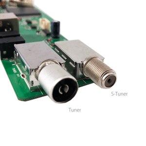 Image 5 - 5 OSD juego RR52C.04A apoyo señal Digital DVB S2 DVB C DVB T2/T ATV Universal LCD Placa de controlador con 7key botón 1ch 6bit 40pin