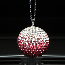 Ornament Crystal Ball Pendant