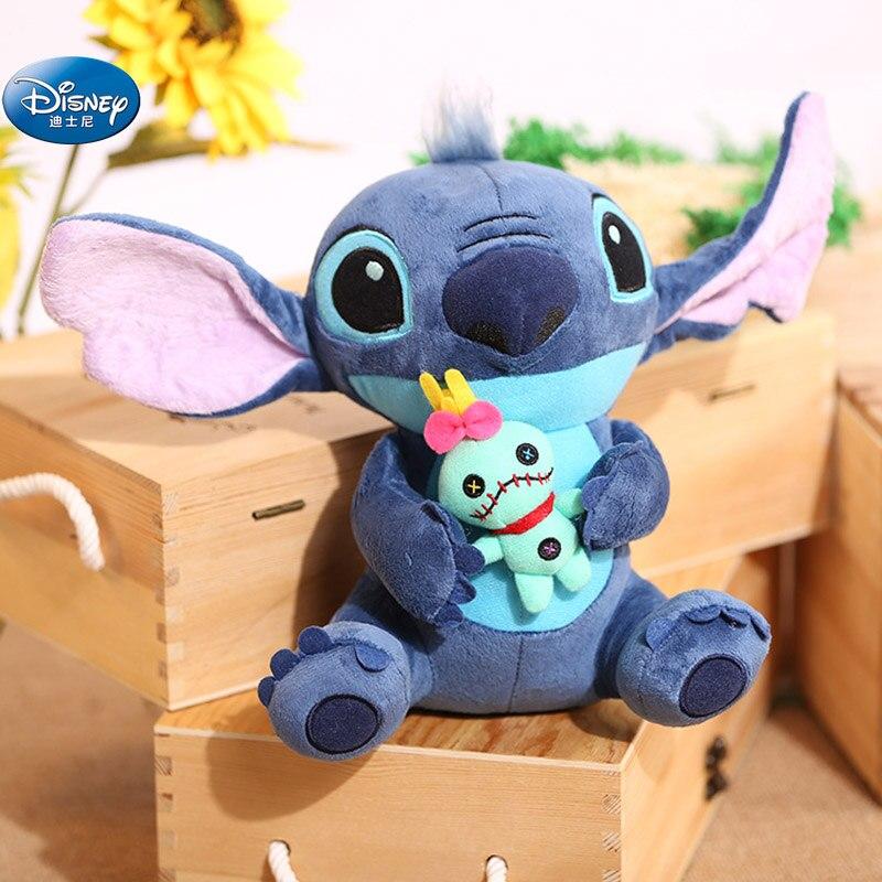 23 Cm Cute Anime  Lilo And Stitch Plush Toys Disney Stitch Plush Doll Toys Kids Birthday Gift