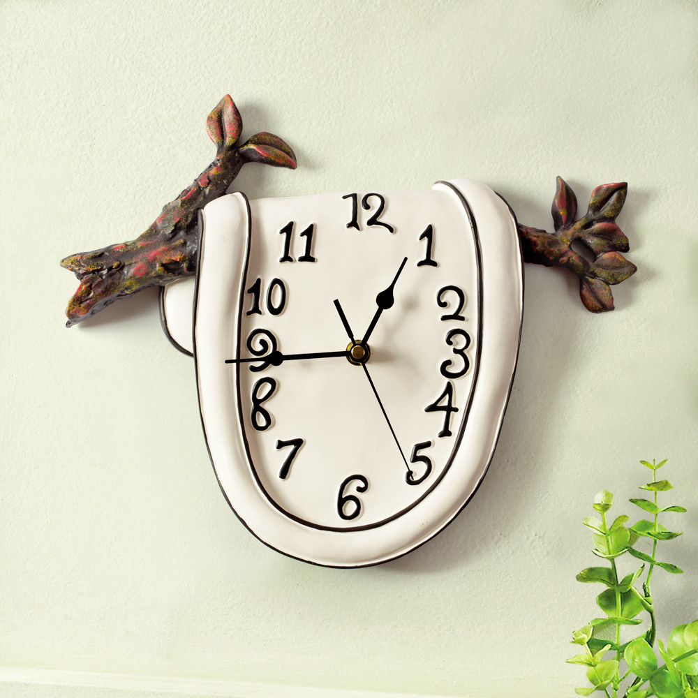 Handmade creative resin vintage wall hanging clock for modern home handmade creative resin vintage wall hanging clock for modern home decorations ornaments in wall clocks from home garden on aliexpress alibaba group amipublicfo Gallery