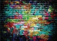 SHENGYONGBAO Art Cloth Custom Brick wall Photography Backdrops Prop Graffiti  theme Photo Studio Background jty-01 цена 2017