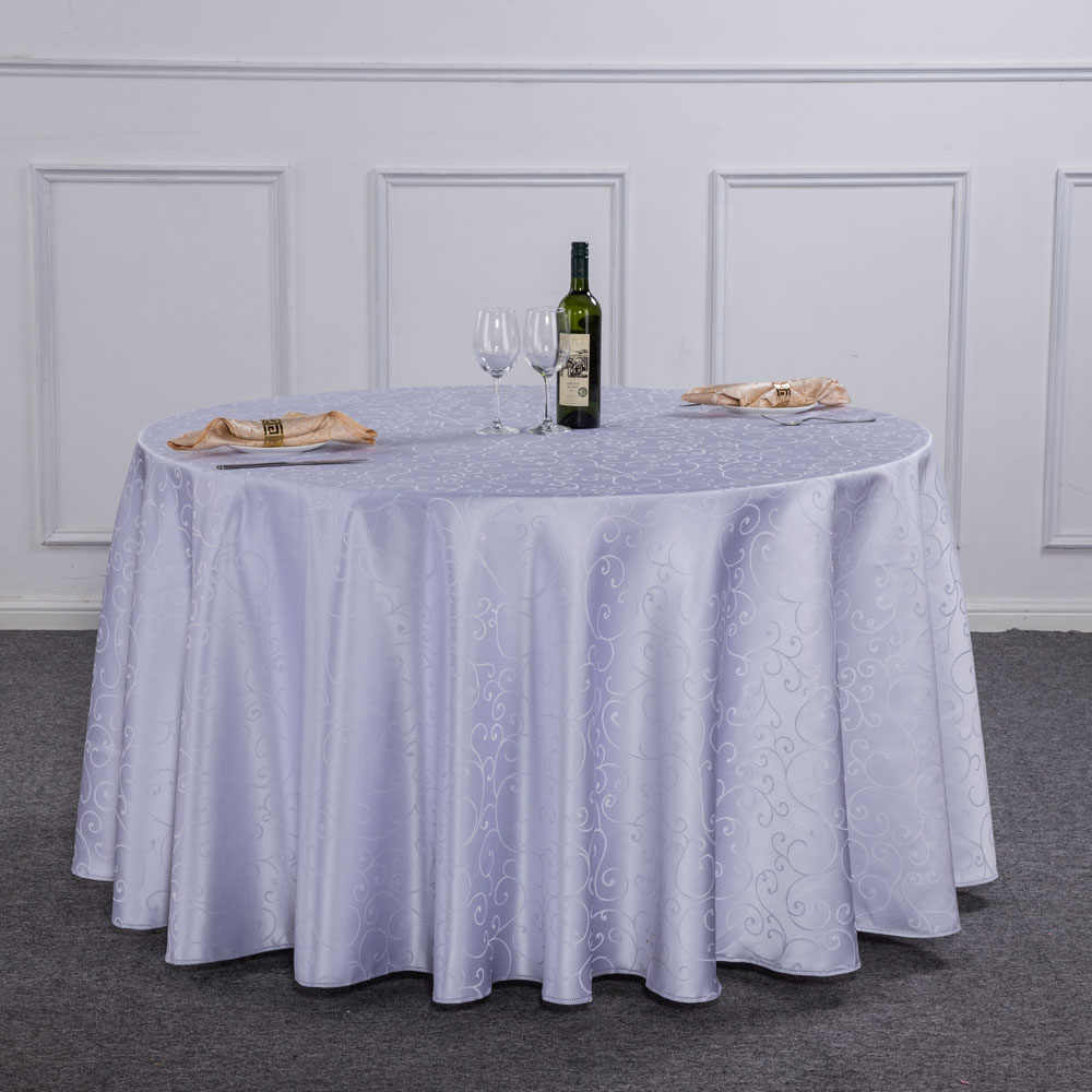 180cm Reusable Round Table Cover Cloth Wipe Clean Plastic Wedding Catering Theme