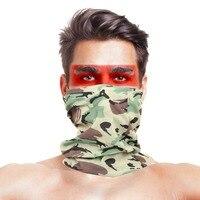 Vilead poliéster ciclismo cachecóis bandana pescoço tubo de braga cabeça cachecol rosto máscara poeira multifuncional quente acampamento caminhadas headwear|Cachecóis| |  -
