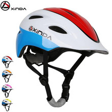 XINDA Children Outdoor Climbing Adjustable Helmets Climbing Riding Mountaineering Bicycle Cycling Drifting Helmet xinda outdoor adjustable helmet climbing equipment expand helmet hole rescue mountain climbing helmet protective safety helmet