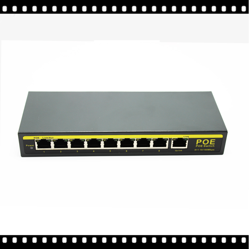 HKES 8 Port 100Mbps IEEE802.3af POE Switch/Injector Power over Ethernet Network Switch for IP Camera VoIP Phone AP devices kamaljeet kaur and gursimranjit singh crtp performance for voip traffic over ieee 802 11