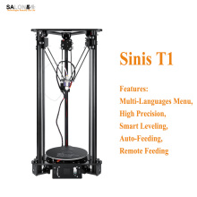 Sinis T1 High Performance Multi- Functional 3d Printer Machine Remote Feeding Smart Leveling Impressora 3d Compatible Various OS