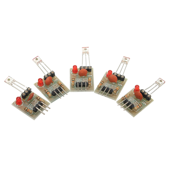 5Pcs/lot High Level Laser Receiver Non-modulator Tube Sensor Module For DIY Free Shipping
