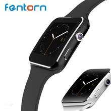 """X6 caliente Bluetooth Smartwatch 1.54 """"pulgadas IPS HD Inteligente Reloj Del Ritmo Cardíaco Rastreador de Ejercicios Para IOS Android Reloj Inteligente"""