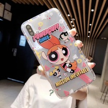 Cute Powerpuff Girls Phone Case Cover For iPhone + FREE Shipping