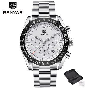 Image 3 - BENYAR Men's Watches Luxury Brand Men Watch Waterproof Watch Sports Watches Business Wristwatch Chronograph Relogio Masculino