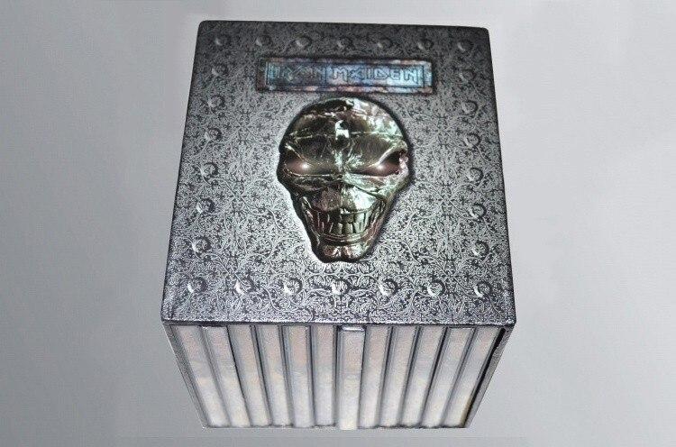Großhandel Hohe qualität Iron Maiden Komplette 12 Alben 15 CD-MUSIK-CD Voll Box Set Fabrik Versiegelte Schwere Metall CD