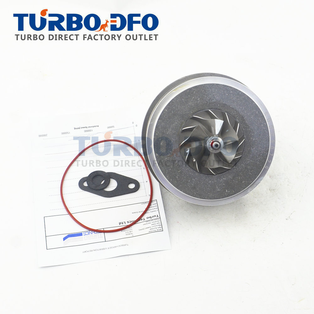 New turbocharger core kits assembly Peugeot 807 2.0 HDI DW10UTED4 2006 - HP balanced cartridge CHRA turbine 758021 764609 peugeot 307 1 6 hdi