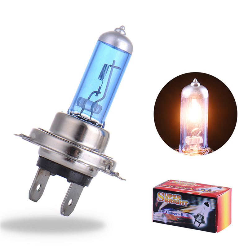 2Pcs H7 Super Bright White Bulb H7 100W 12V Fog Lights High Power Car Headlights Lamp Car Light Source Parking 2pcs h7 55w 12v halogen bulb super xenon white fog lights high power car headlight lamp car light source parking 6000k auto