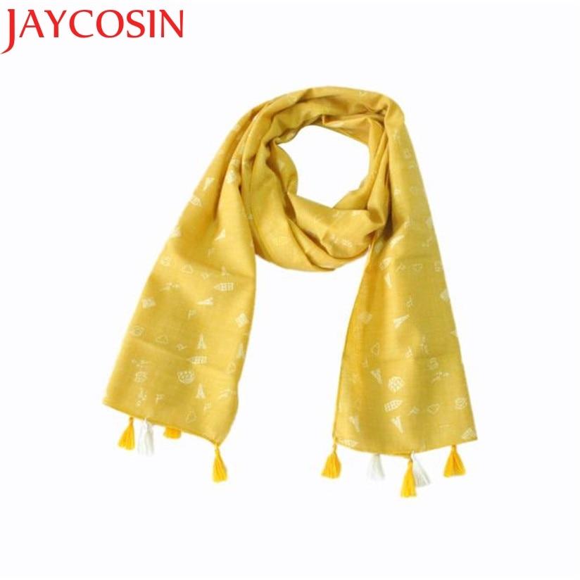 JAYCOSIN Hot High Quality Child Girl Boy Kid Children Winter Spring Autumn Plaid Fringed Soft Cotton Scarf Warm Scarf Shawl
