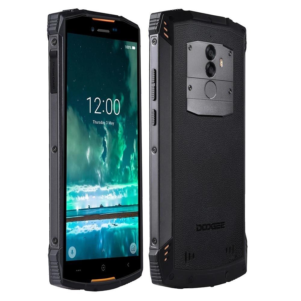 Doogee s55 áspero à prova de choque do telefone móvel android 8.0 5500 mah 4 gb ram 64 gb rom mtk6750t octa núcleo 4g carregamento rápido smartphone - 3