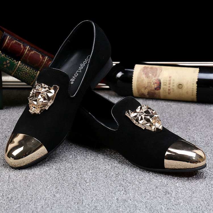 Constructive British Style Iron Pointed Toe Male Party Dress Shoe Brown Buckle Oxford Mens Flats Snake Skin Leather Formal Dress Shoes Men Men's Shoes Formal Shoes