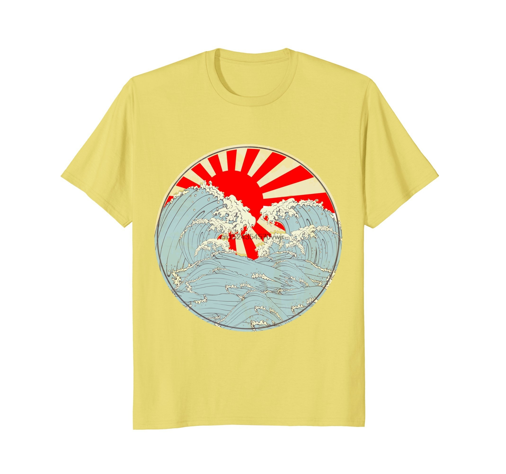 c1599848a14 Japanese T Shirt The Great Wave off Kanagawa Vintage Art-in T-Shirts from  Men s Clothing on Aliexpress.com